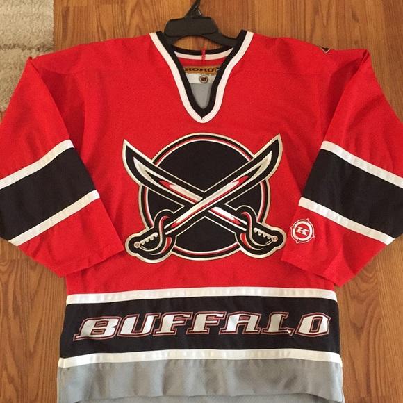 buy popular b7fb3 bdeeb Buffalo Sabres vintage alternate jersey